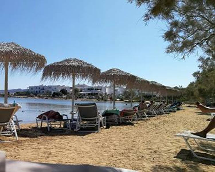 Antiparos lounge beach